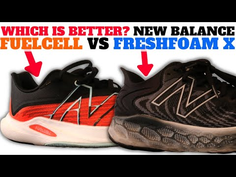 NEW BALANCE FRESH FOAM X VS FUELCELL: WHICH IS BETTER SNEAKER CUSHION?