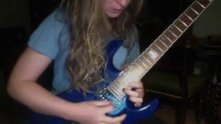 Children of Bodom - Wrath within (solo cover)