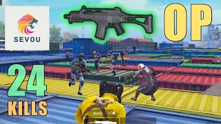 NEW AR WEAPON IS MIND-BLOWING!!! | 24 KILLS | PUBG MOBILE