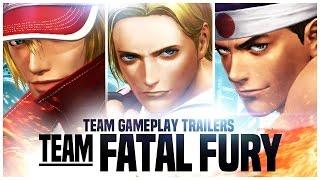 "KOF XIV - Team Gameplay Trailer #3 ""FATAL FURY"""