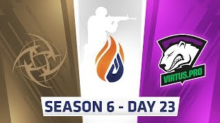 ECS S6 Day 23 - NiP vs Virtus.pro // Complexity vs Rogue, Complexity vs MIBR