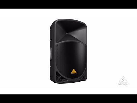 EUROLIVE B115W Active PA Speaker System with built-in Bluetooth Wireless Technology