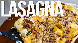 Lasagna Recipe (and the Best Bolognese Sauce) | SAM THE COOKING GUY 4K