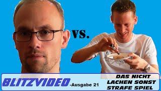 preview picture of video 'Blitzvideo Ausgabe 21 [Das Nicht Lachen Sonst Strafe Spiel] Vlog deutsch video blogger'