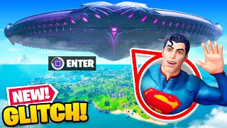 NEW *GLITCHING* INSIDE the Mothership UFO in Fortnite!