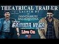 PSV Garuda Vega Movie Trailer Launch – Live