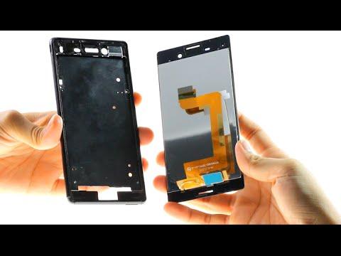 Sony Xperia M4 Aqua Broken LCD Repair Guide