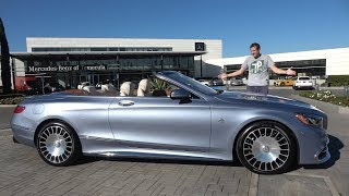 Mercedes-Maybach S650 Cabriolet - это самый крутой S-Class за $350 000