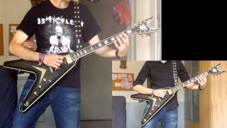 Dissection Where Dead Angels lie Guitar Cover (Full With All Guitars HD)