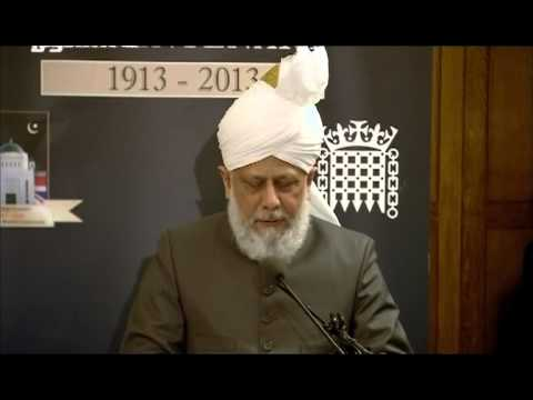 Address in the Houses of Parliament on Jama'at UK Centenary