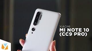 Xiaomi Mi Note 10 / Xiaomi CC9 Pro Unboxing & Hands-on