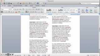 How To Create Columns In Microsoft Word