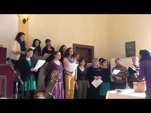 Slávek Klecandr a chrámový sbor Ekola v Prčici