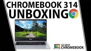 Acer Chromebook 314 Test UNBOXING   Deutsch   CB314-1H-C7SJ   NX.HPYEG.001   Ein billiger Laptop?