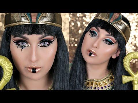 SEXY MAQUILLAJE EGIPCIO PARA HALLOWEEN | PAJARITABELLA