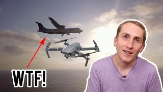 Mavic Pro flying near Airplanes | Most Illegal Drone Video on Youtube?