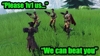 So I 1v1'ed My BIGGEST FANS To See If They Had What It Took... (Fortnite)