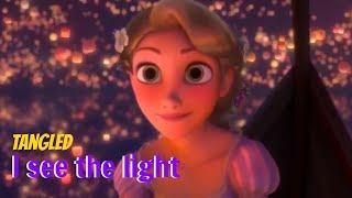 I See The Light - Full Music Video (Mandy Moore ft. Zachary Levi)