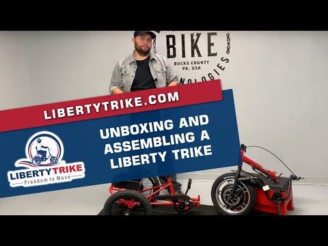 Turning capability of Liberty Trike Bike