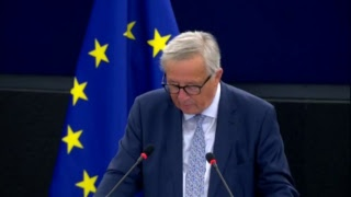The State Of The Union - EU - Jean-Claude Juncker & Manfred Weber