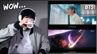 "BTS   ""Lights"" + ""HeartBeat"" MV Reaction"