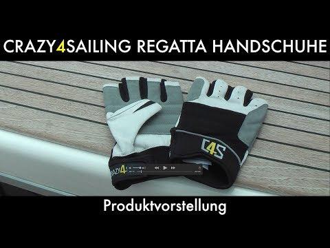 CRAZY4SAILING® Regatta Segelhandschuhe | Produktvorstellung