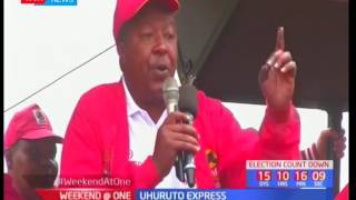 Uhuruto express: Rift Valley leaders campaign in Nandi