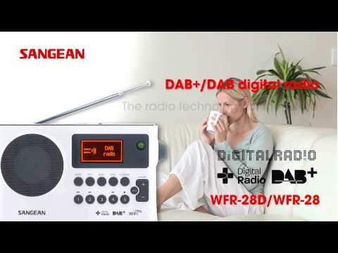 Sangean WFR-28D WFR-28 Internet Radio