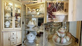 STYLING MY CHINA CABINET