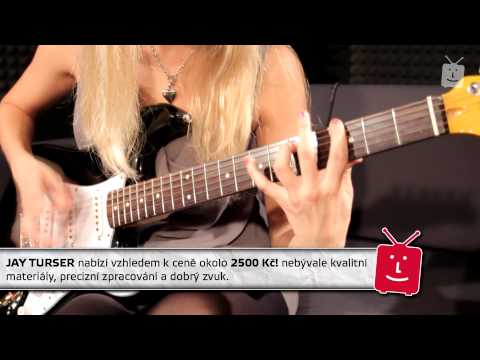 JAY TURSER JT-300-BK Elektrická kytara