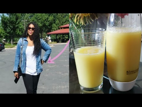 strongest fat burning juice!! all belly fat and arms will be gone!!