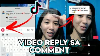 PAANO ILAGAY ANG COMMENT SA TIKTOK VIDEO  / TIKTOK TUTORIAL