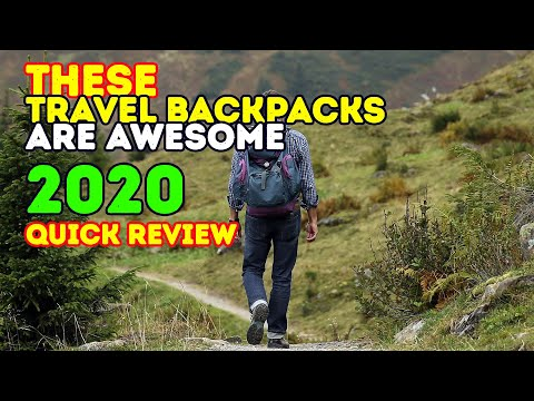 Best Backpacks for Travel 2017