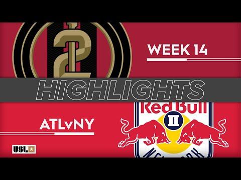 Atlanta United 2 - Нью-Йорк Ред Буллз-2 1:3. Видеообзор матча 08.06.2019. Видео голов и опасных моментов игры