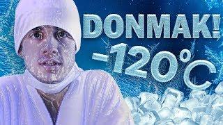 -120 DERECE SOĞUKTA DONMAK! (#OrkunaMeydanOkuyorum)