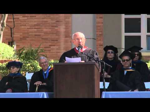 2014 UCLA History Commencement Speaker Meyer Luskin