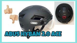 ABUS Urban HYBAN 2.0 Review+Erfahrungen+Test Fahrradhelm Empfehlung?