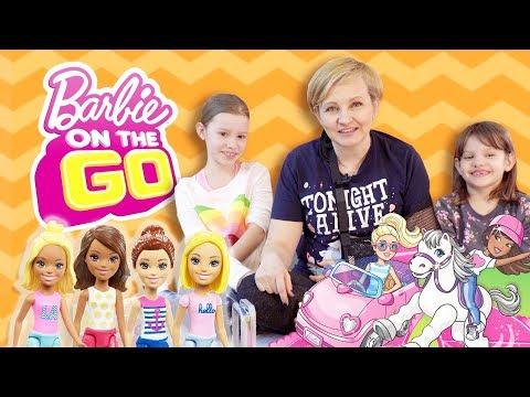 Barbie On The Go, Mattel - Wielki wyścig, Gościnnie Barbie i Ken