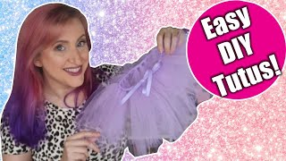 DIY Tutus For Baby Shower Gifts, School Performances, Playing Dress Up, Or Halloween For All Ages!