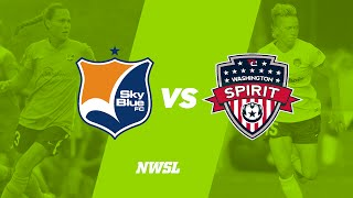Sky Blue FC vs. Washington Spirit