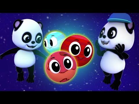 Песни планет | Песня солнечной системы | узнать солнечную систему | Baby Bao Panda | Planets Song