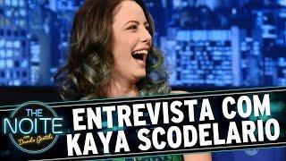 The Noite (18/09/15) - Entrevista Com Kaya Scodelario