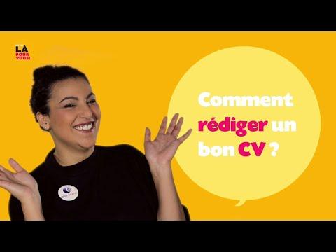 Video Comment bien rédiger son CV