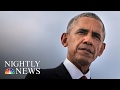 President Obama Saying Goodbye With Farewell Address To Nation From Chicago | NBC Nightly News