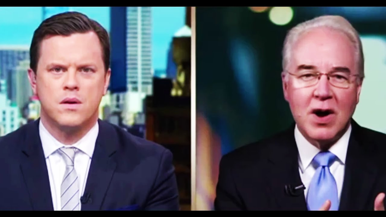 Tom Price Lies Through His Teeth About People Losing Coverage thumbnail