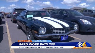 Boss Gifts Employee With Dream Car: Wow!