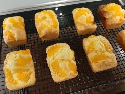 Mini Mandarinen Kuchen aus der neuen Mini Kuchenform