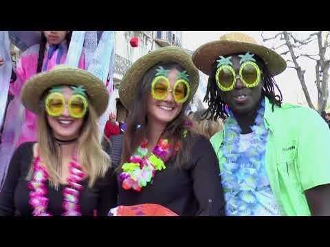 Le carnaval d'Aubagne, le samedi17 mars 2018