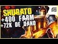 COMO NÃO TILTAR COM ESSA PARTIDA MAIS DE 400 FARM 72MIL DE DANO DE SHURATO EMBRASANTE Fiv5