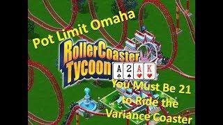 Riding the Variance Coaster!- Pot Limit Omaha VLOG 13